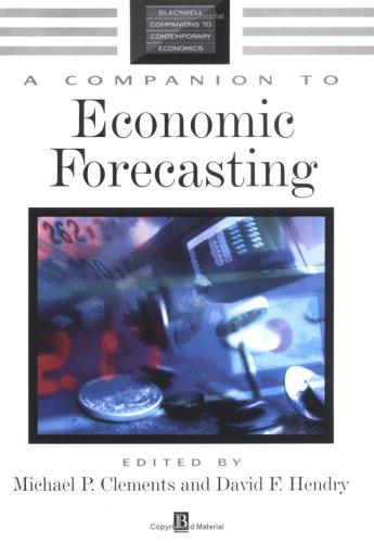 A Companion to Economic Forecasting 9780631215691