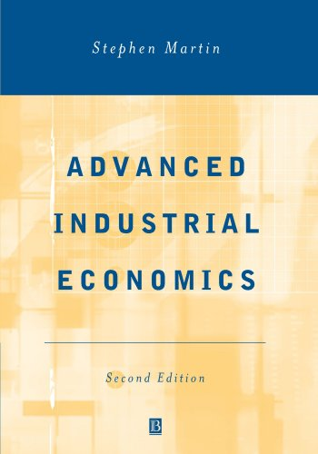 Advanced Industrial Economics 9780631217572