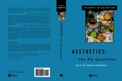 Aesthetics: The Big Questions 9780631205944
