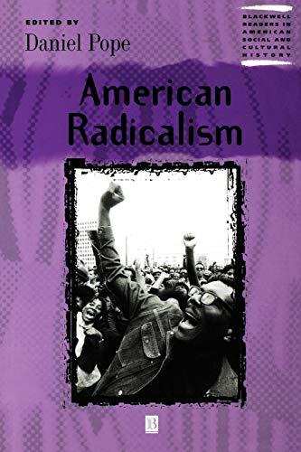 American Radicalism 9780631218999