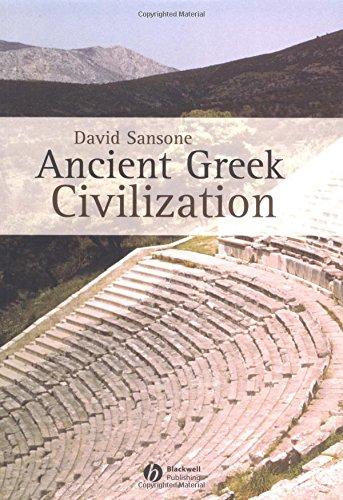 Ancient Greek Civilization 9780631232360