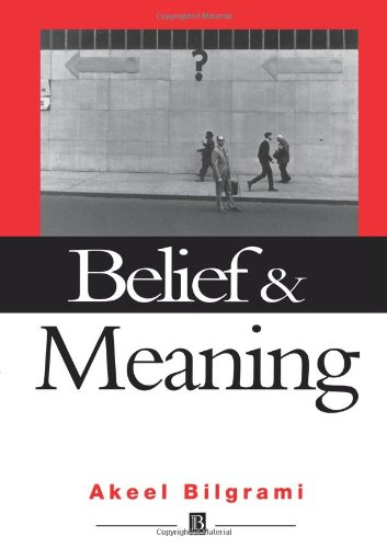 Belief and Meaning: The Unity and Locality of Mental Content 9780631196778