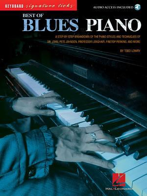 Best of Blues Piano 9780634079023