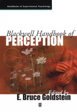 Blackwell Handbook of Perception 9780631206835