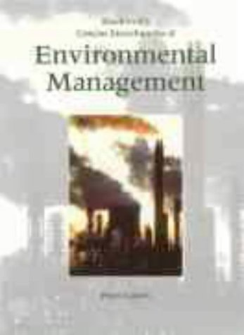Blackwell's Concise Encyclopedia of Environmental Management 9780632049516