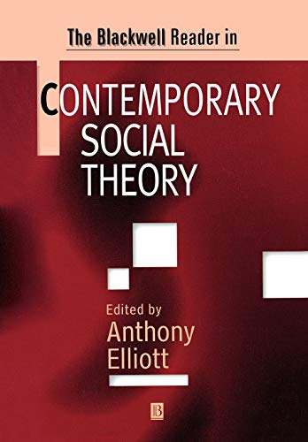 Blkwell Rdr in Cont Soc Theory 9780631206507