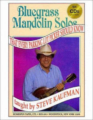 Bluegrass Mandolin Solos That Every Parking Lot Picker Should Know 9780634030062