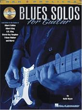 Blues Solos for Guitar [With CD] 2367824