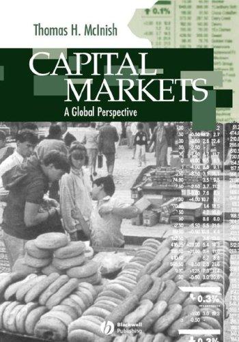 Capital Markets 9780631211600