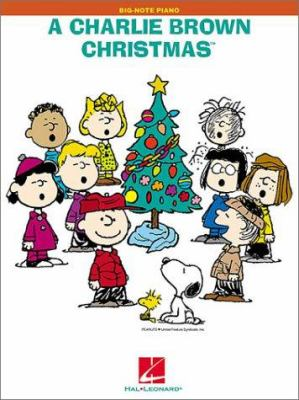 A Charlie Brown Christmas: Big-Note Piano 9780634029813