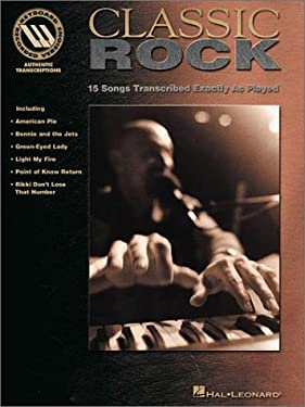 Classic Rock - Keyboard Recorded Versions 9780634002502