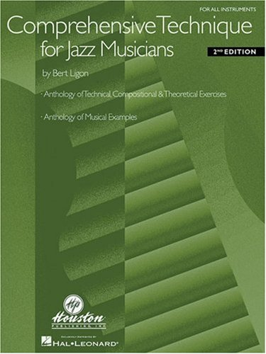 Comprehensive Technique for Jazz Musicians: For All Instruments 9780634001765
