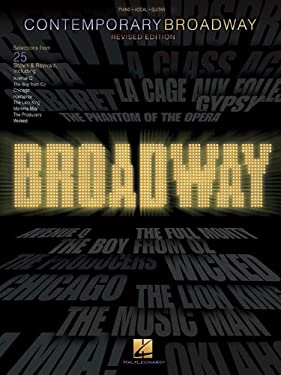 Contemporary Broadway: Selections from 25 Shows & Revivals 9780634036255