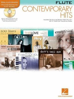 Contemporary Hits: For Flute Instrumental Play-Along Pack 9780634085277
