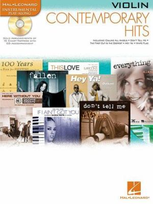 Contemporary Hits: For Violin Instrumental Play-Along Pack 9780634085345