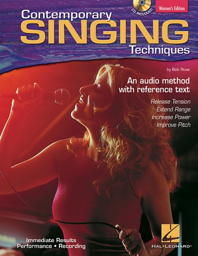 Contemporary Singing Techniques [With CD] 9780634067211