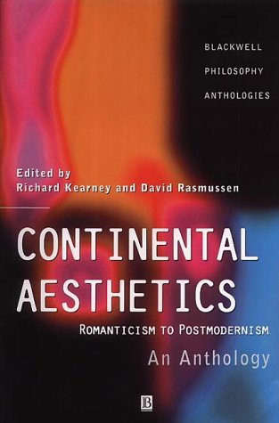 Continental Aesthetics 9780631216117