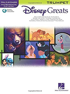 Disney Greats: For Trumpet Instrumental Play-Along Pack 9780634085437