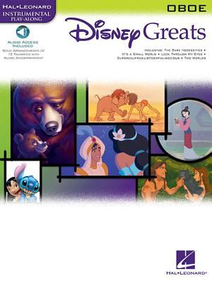 Disney Greats: For Oboe Instrumental Play-Along Pack 9780634096839