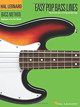 Easy Pop Bass Lines 9780634070211