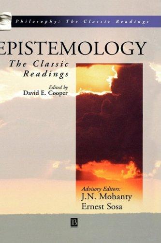 Epistemology C 9780631210870