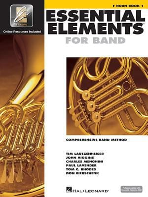 Essential Elements 2000 - Book 1: F Horn [With CDROM] 9780634003219