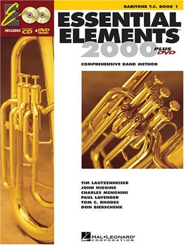 Essential Elements 2000 - Book 1: Baritone T.C. [With CDROM] 9780634003240