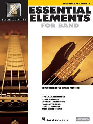 Essential Elements 2000 - Book 1: Electric Bass [With CDROM] 9780634003264
