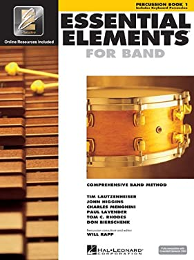 Essential Elements 2000 - Book 1: Percussion/Keyboard Percussion [With CDROM] 9780634003271