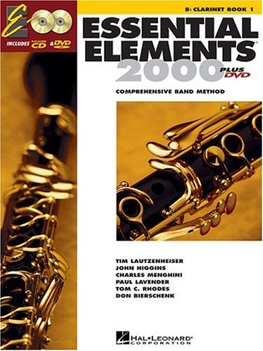 Essential Elements 2000 - Book 1: BB Clarinet [With CDROM]