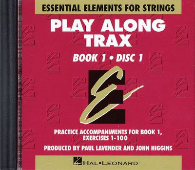 Essential Elements for Strings: Play Along Trax 9780634018633