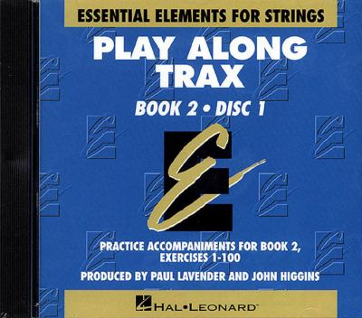 Essential Elements for Strings Book 2 - Play Along Trax - 2 CDs 9780634018626