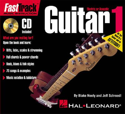 Fasttrack Guitar Method - Book 1 [With CD] 9780634011429