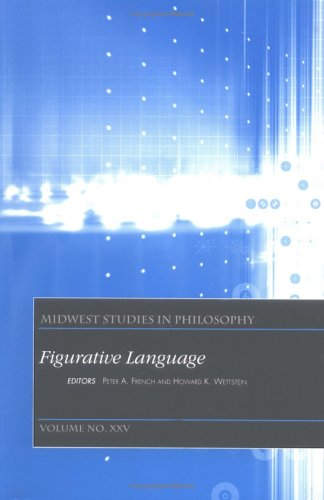 Midwest Studies in Philosophy, Figurative Language 9780631232186