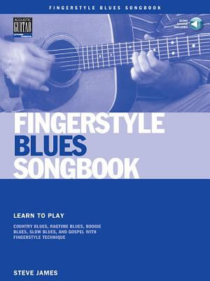 Fingerstyle Blues Songbook [With CD (Audio)] 9780634067181