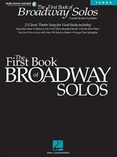 First Book of Broadway Solos: Tenor Edition [With CD with Piano Accompaniments by Laura Ward]