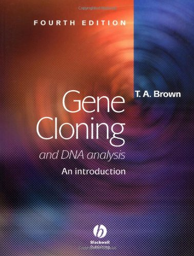 Gene Cloning and DNA Analysis: An Introduction 9780632059010