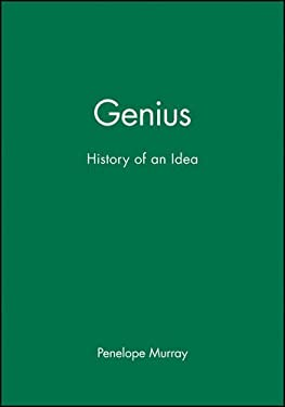 Genius: The History of an Idea 9780631157854