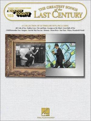The Greatest Songs of the Last Century 9780634021312