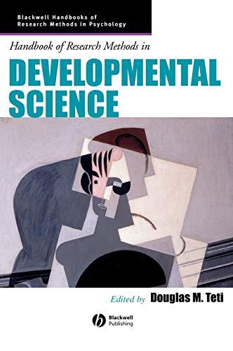 Handbook of Research Methods in Developmental Science 9780631222613
