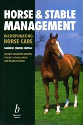 Horse and Stable Management (Incorporating Horse Care) 2365347