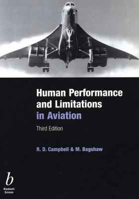Human Performance and Limitations in Aviation 9780632059652