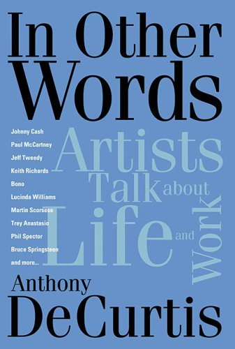 In Other Words : Artists Talk about Life and Work
