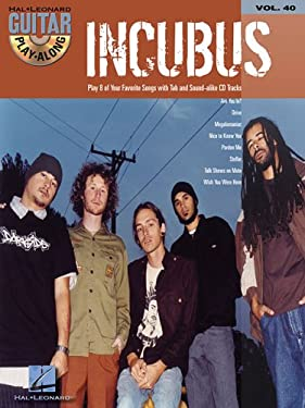 Incubus [With CD (Audio)] 9780634086717