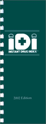 Instant Drug Index 2002 9780632047062