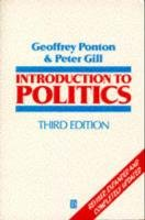 Introduction to Politics. Third Edition 9780631187844