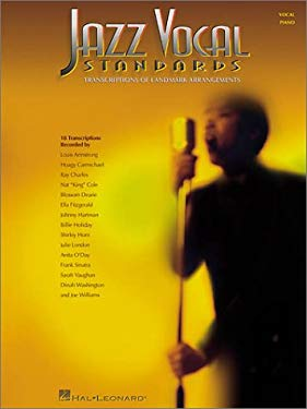 Jazz Vocal Standards: Transcriptions of Landmark Arrangements 9780634020599