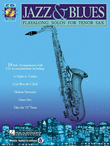 Jazz & Blues: Playalong Solos for Tenor Sax [With CD (Audio)] 9780634004452