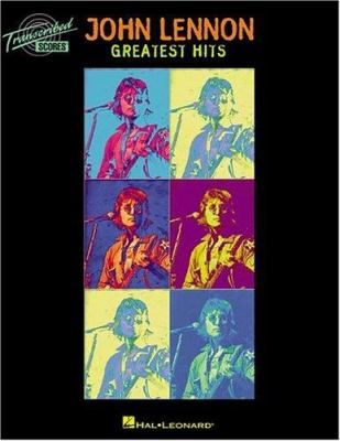 John Lennon - Greatest Hits 9780634046544