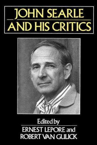 John Searle and His Critics 9780631187028